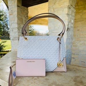 NWT Michael Kors Nicole handbag&wallet